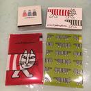 【新品】リサラーソン 文具4点セット メモ帳、ブロックメモ、クリア...