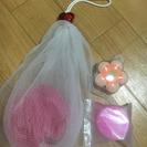 《バスグッズ3点セット ¥100》