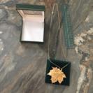 カナダのお土産 ネックレス