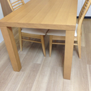 引越し処分/ニトリのテーブルセット