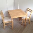 【無料】テーブル&椅子