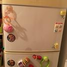 一人暮らし用冷蔵庫(2ドア)