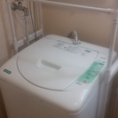 先約の方にて進行中:中古洗濯機無料で差し上げます。