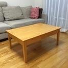 木製テーブル 無料 リビングに