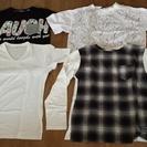 男性用Tシャツ Mサイズ 半袖3枚 長袖1枚 未使用品