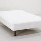 無印良品 脚付マットレス セミダブル ベッド