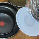 ティファールの鍋とフライパン、新品です。