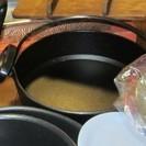 すきやき鍋、中古ですが、さしあげます。
