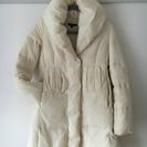 リエンダの防寒ロングダウンコート ホワイト