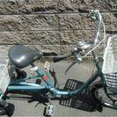 大人用三輪自転車 (パナソニック製 16インチ 変速なし)