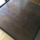 【美品】木製こたつ机 座卓