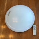 Panasonic照明(明暗直接可能なリモコン付き、蛍光灯ついてます)