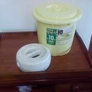 プラスチック漬物樽あげます