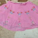 美品 ゲス ピンクミニスカート パンツ付き