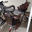 【交渉中】難あり子乗せ自転車