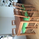 【IKEA】ダイニングテーブルセット(JOKKMOKK)