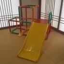 グーチョコンランタン☆折り畳み可能なジャングルジム&滑り台
