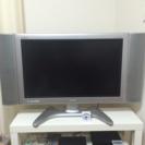 液晶テレビ 30インチ + DVDプレイヤー + 地デジチューナー