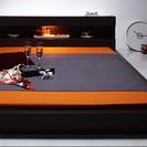 セミダブル ベッド  & 低反発マットレス