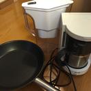 【交渉可能】キッチン家電類3点セット