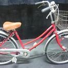 愛知県一宮市発☆27インチ レッド 中古 自転車