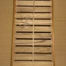折り畳み式すのこベッド シングルサイズ