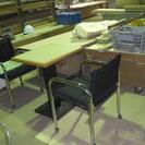 椅子2脚テーブル2人用持ち帰りの人