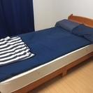 【値下げ】シングルベッド マットレス付