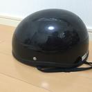 値下げ ハーフ  ヘルメット  黒
