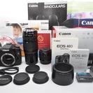 ●付属品多数●極上品 Canon キャノン EOS 40D Wレン...