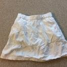 ★女の子 130 白スカートズボン