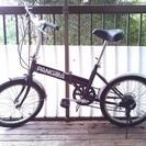【終了】折りたたみ自転車 PANGAEA 20インチ 6段ギア