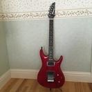 【終了】Ibanez アイバニーズ エレキギター JS100 赤