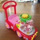 【値下げ!!】ハローキティ☆乗用玩具&手押し車☆美品!