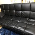 ソファーベッド ブラック