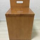 ドレッサー付属の木製椅子