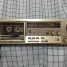 懐かしの80年代オーディオ!ソニーのカセットデッキ!3ヘッド!