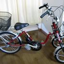 <取引中>トライクの電動アシスト三輪自転車。室内保管の為美品です。