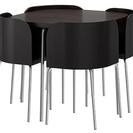【取引中】IKEA FUSION テーブル&チェア4脚