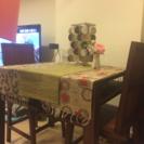 マーブル デ モンド ダイニングテーブルセット