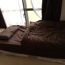 イケアの足つきマットレス  シングルベッド