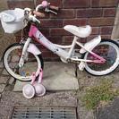 ミニーちゃんの自転車 16インチ