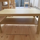 <IKEA>ローテーブル・コーヒーテーブル(118x78 cm)美品