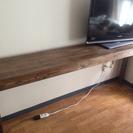 幅狭 ロングテーブル ハンドメイド