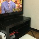 テレビボード ブラック