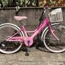 売り切れました。22インチ 女の子向け子供用自転車 Fewelpe...