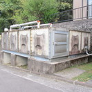 【ヒシタンク】受水槽◆三菱樹脂◆貯水タンク◆特大◆9000L