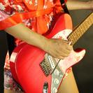 ギターの広告モデル募集です。