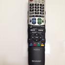 (値下げ)シャープ テレビリモコンGA826WJSA