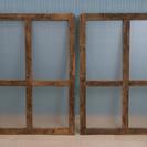 【渋谷区】古材の窓枠.【手渡し】
